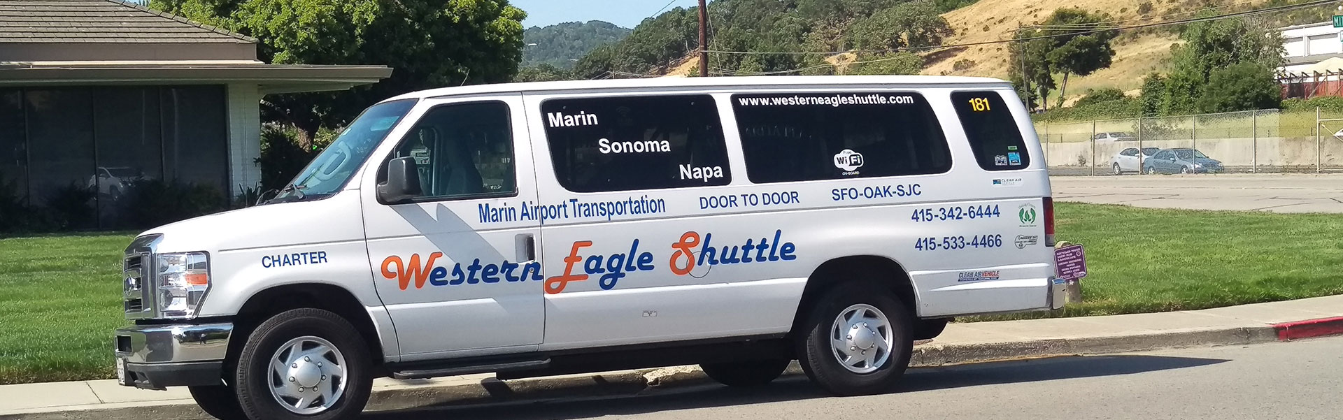 Marin Airport Transportation North Bay Shuttle Charter
